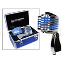 Heil Sound FIN Microphone with Blue LEDs Driven From Phantom Power