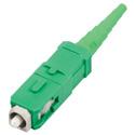 FIS 95-200-44 Unicam SC/APC Single Mode OS2 Fiber Connector - Green