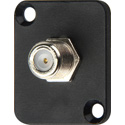 D-Type F Female to Female Feedthrough Chassis Mount Barrel