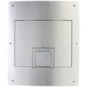 FSR FL-500P-SLD-ALM-C Solid Cover with Cable Exit (No Trim) Aluminum for Floor Pocket - B-Stock (Used - Cosmetic Only)
