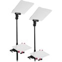 Prompter People FLEX-IPAD-PRES-PR Flex Presidential iPad Conference Prompter - Pair