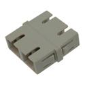 SC to SC Multimode Duplex Fiber Optic Coupler Adapter Bronze Sleeve