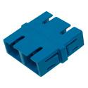 SC to SC Single Mode Duplex Fiber Optic Coupler Adapter - Flangeless