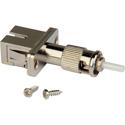 Camplex FOA-SCF-STM SC Female to ST Male Single Mode Simplex Hybrid Adapter - Flanged