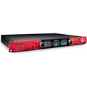 Focusrite RED-8LINE 58-in / 64-out Thunderbolt 3 Audio Interface with 2 Red Evolution Mic Pres and Line-Level Digilink