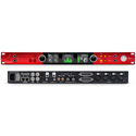 Focusrite RED-4-PRE Red 4Pre 58x64 Audio Interface w/ 4 Red Evolution Mic Pres - 32x32 Dante Connect - Thunderbolt 2