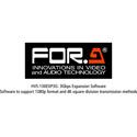 FOR-A HVS-100EXP3G 1080p 60 (3G) Upgrade for HVS-100/110 (Software)