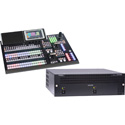 FOR-A HVS-1200-TYPE A Hanabi 4K/12G/3G/HD Video Switcher w/ HVS-492OU 18-Button Control Panel Bundle