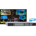 FOR-A MV-1640IP 1RU IP 4K High Resolution 32 Input 3G/HD/SD-SDI Multiviewer