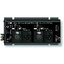 RDL FP-MPA2 Dual Microphone Phantom Adapter 12 / 24 / 48 V - XLR
