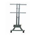 Plasma TV/LCD Cart With 110 lbs Capacity For 27-60 inch TVs