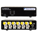 Multidyne FS-3X3-TRXA-ST 3 x 3 Ch. FiberSaver Transceiver/Remapper ST Connectors - Requires FS-3X3-TRXB-ST for Operation