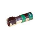 F-Conn FSNS6PL RG6 Plenum F Type Nickel Connector EACH