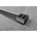 FSR 18264 3-Foot - 6-Foot 321 Snap Stick with 2 Duplex Power - Slate