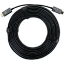 FSR DR-H2.0-SR-10M Black AOC Cable - SS Reinforced HDMI 2.0  Male to HDMI 2.0  Male - 33 Feet (10 Meter)