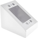 FSR DSKB-1G-WHT 1-Gang Desktop Mounting Box -  White