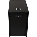 FSR HBM-SM-BLK 22 Inch x13 Inch  Box with AC USB Charger and TC-WC1 Qi Wireless Charger - Black