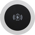 FSR TC-WC1-BLK In Table Wireless Coaster Charger Can be Used with All Qi Wireless Equipment - Comes with Power Supply