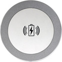 FSR TC-WC1-WHT Table Coaster Qi Wireless Charger with Adaptive Fast Charge Power Supply - White