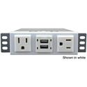 FSR TM-AC2CH2R-BLK Ear Mount - for 2 AC 2 USB 2 USB Rear 9 Foot CD