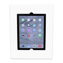 FSR WE-FMIPDAIR-WHT Flush Mount iPad  Air Wall Enclosure with Button White