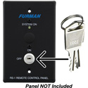 Furman 986001-1429 Pair of Replacement Keys for RS1 or RS2 Remote Control Panel Locking Key Switch