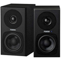 Fostex PM03H-B 3 Inch 2-way Powered Studio Monitor - Black - Pair