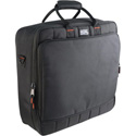 Gator Cases G-MIX-B 1818  18 x 18 x 5.5 Audio Equipment Gig Bag or Small Mixer Bag