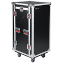 Gator Cases G-TOUR 10X16 PU Pop-Up Console Rack Case