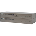 Gefen EXT-DVI-3600HD Optical DVI/ USB 2.0/ RS-232/ Audio Extender