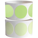 Photo of Pro Tapes 001GLDC1 Pro Glow Luminescent Glow Tape 1 Inch Dots 100 Per Roll