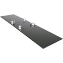 Global Truss BasePlate 1.4S 1 Foot x 4 Foot Steel Base Plate