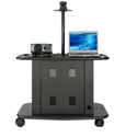 Avteq GM-200P 32inch Tall Cart w/ Adjustable Height Camera Platform