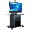 Avteq GMP-300M-TT1 42 Inch Tall TV/Monitor Cart for Flat Screens up to 55 Inches
