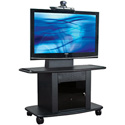 Avteq GMP-350M-TT1 Plana Series 19.75 inch Deep TV/Monitor Cart for 42 to 52 inch Screens