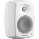 Genelec 4020CWM Studio Monitor 4 inch LF/ 50W & .75 inch HF/ 50W 3-pin Euroblock Connector Input - Mystic White Finish