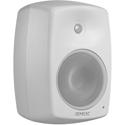 Genelec 4040AWM Studio Monitor 6.5 inch LF/120W & .75 inch HF/120W Balanced Euroblock Connector Input - Mystic White