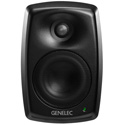 Genelec 4420AM 4 Inch and .75 Inch HF Speakers - PoE and Audio over IP - Dante / AES67 - Mystic Black Finish
