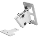 Genelec 8000-402W Adjustable Speaker Wall Bracket - Fits all 4000 series Speakers - White Finish