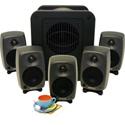 Genelec 8020.LSE Espresso 5.1 System W/5- 8020CPM and 1- 7050B Sub w/Bass Mgr
