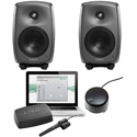 Genelec 8330 Stereo SAM with (2) 8330As & GLM V2.0 User Kit with Volume Control