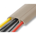 Flexiduct CC-33 3/4 Inch Cord Cover - Beige