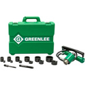 Greenlee 7306SB 11-Ton Hydraulic Knockout Kit with Hand Pump and Slug-Buster 1/2 Inch - 2 Inch