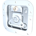 Grundorf Key Lockable Medium Recessed Replacement Catch in Zinc for Carpet Cases