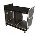 Grundorf COMBO-D16 16sp. Double Wide Combo Case - Black