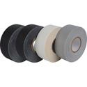 Pro Tapes GT1-12-4PK Pro Gaff Gaffers Tape GT1-12-4PK 1 Inch x 12 Yards Mini Rolls-4 Pk 2-Black 1-Gray 1-White