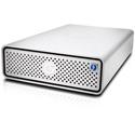 G-Tech 0G05368 G-DRIVE 2x Thunderbolt 3 Professional Hard Drive 7200RPM 3/1x USB-C - 6TB - Silver