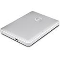 G-Tech 0G10348-1 G-DRIVE Mobile USB-C Portable Hard Drive - 4TB - Aluminum Finish