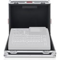 Gator G-TOURX32CMPCTNDH ATA Wood Flight Case Custom Fit for Behringer X32 Compact Mixing Console