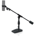 Gator Frameworks GFW-MIC-0822 Telescoping Boom Mic Stand for Desktop - Podcasting - Bass Drum & Amps